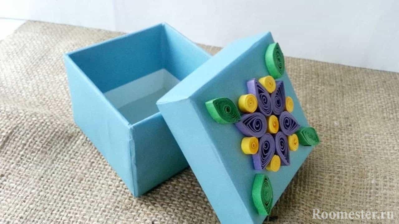 Декор маленькой коробки