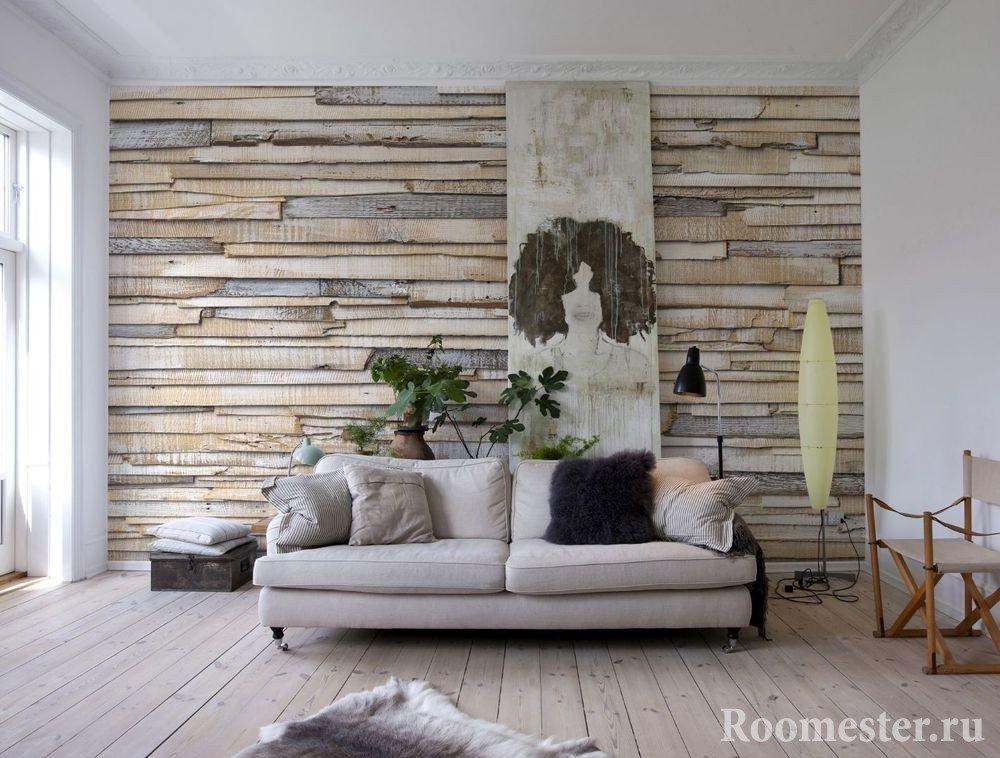 Декор стен своими руками - 30 оригинальных идей на фото и видео