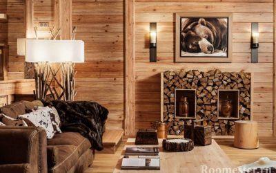 Интерьер деревенского дома — 30 идей дизайна внутри