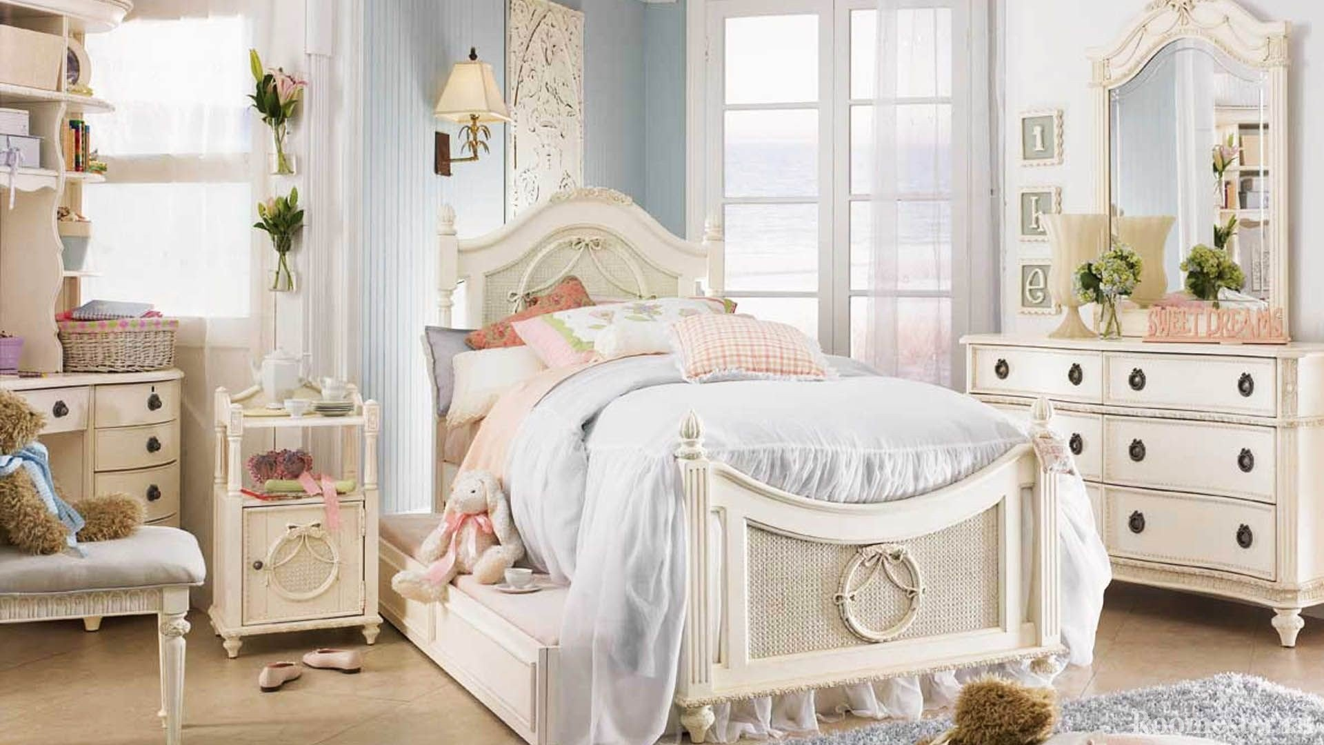 Идеи дизайна детской комнаты для девочки - 30 фото интерьера