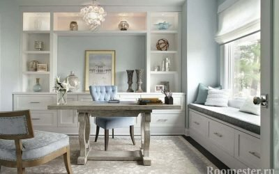 Дизайн кабинета — идеи интерьера на фото