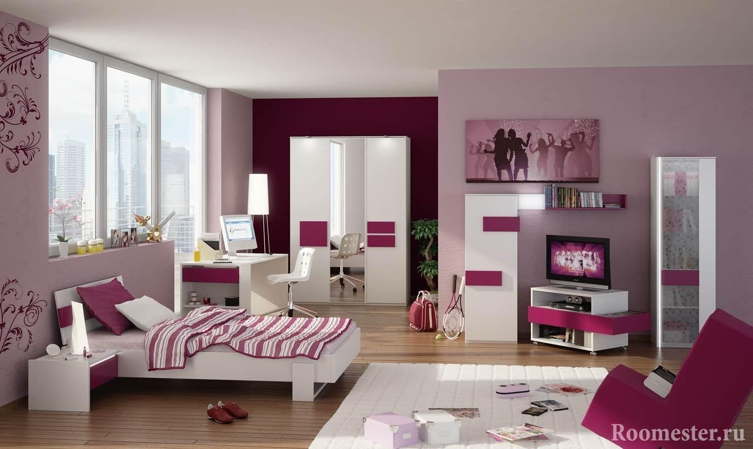 Habitación para una chica de 20 años de diseño de la foto