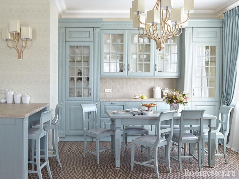 Мебель в едином стиле и цвете