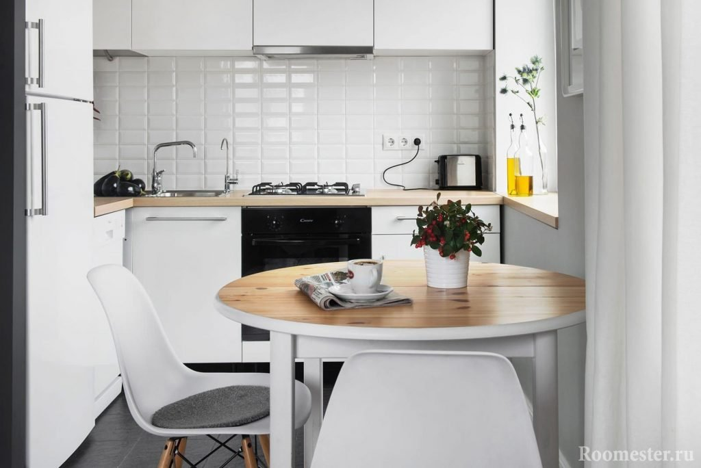 Интерьер очень маленькой кухни фото 2016 современные идеи
