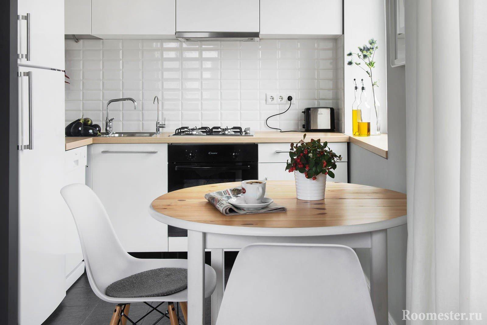 Дизайн для маленьких кухни 2017