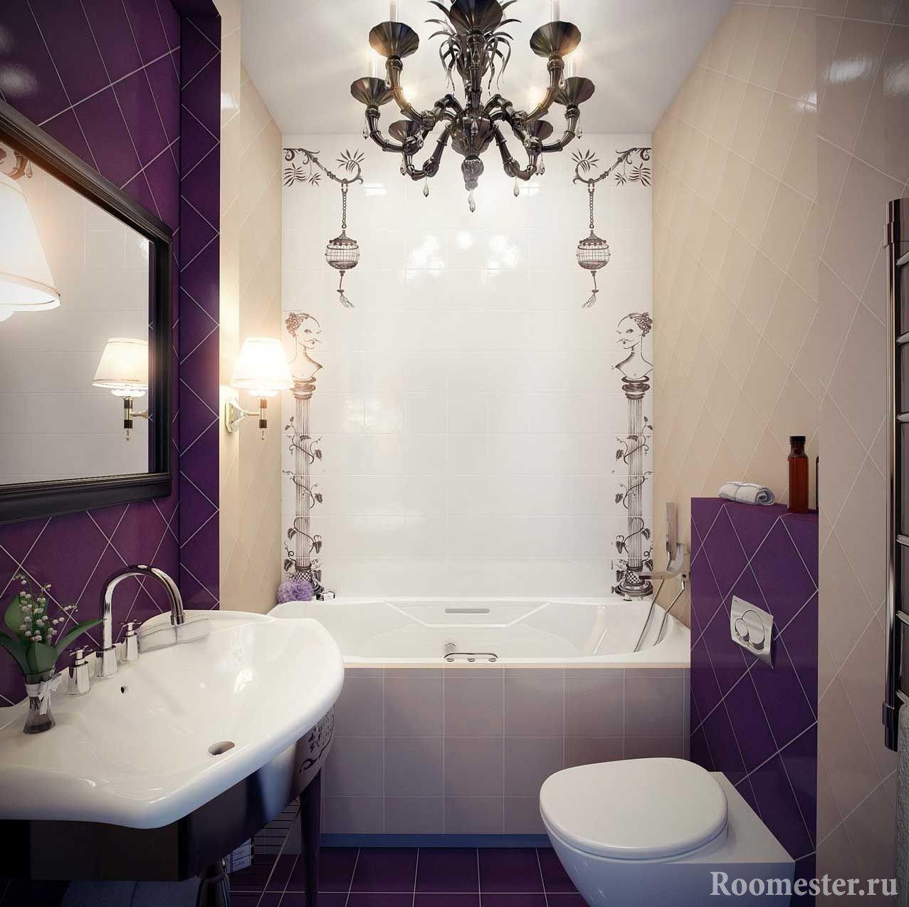 Современный совмещенный туалет