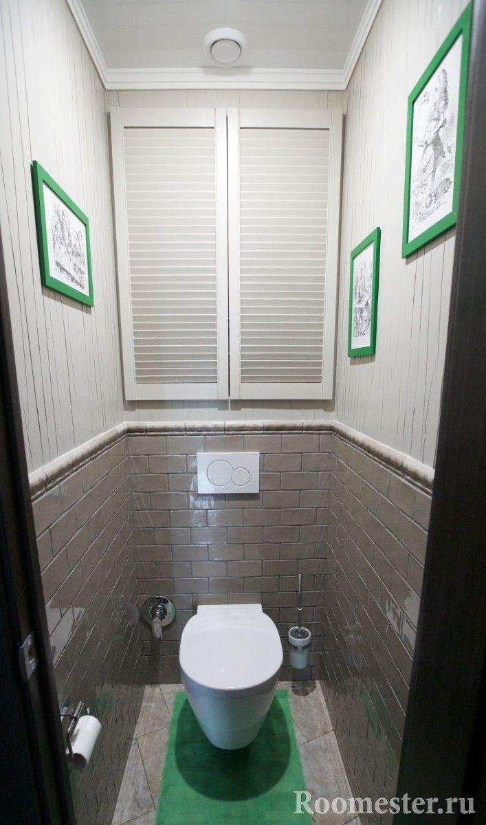 Туалет в панельном доме