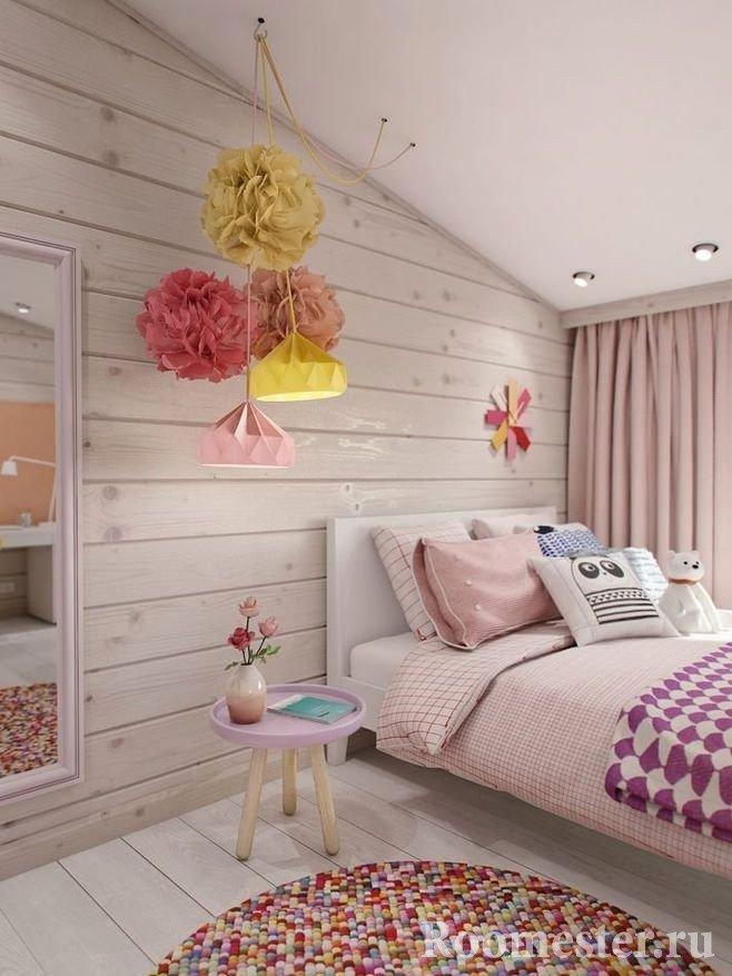 Декор спальни текстилем
