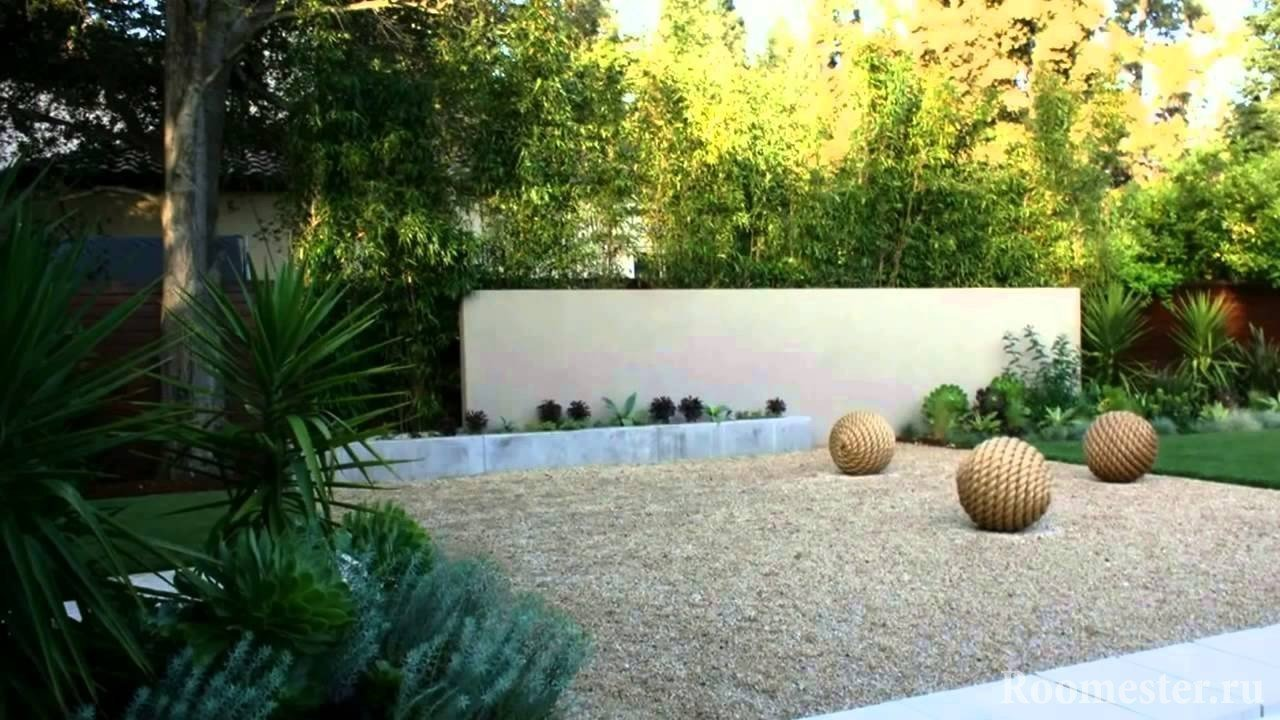 Ландшафтный дизайн в стиле хай-тэк