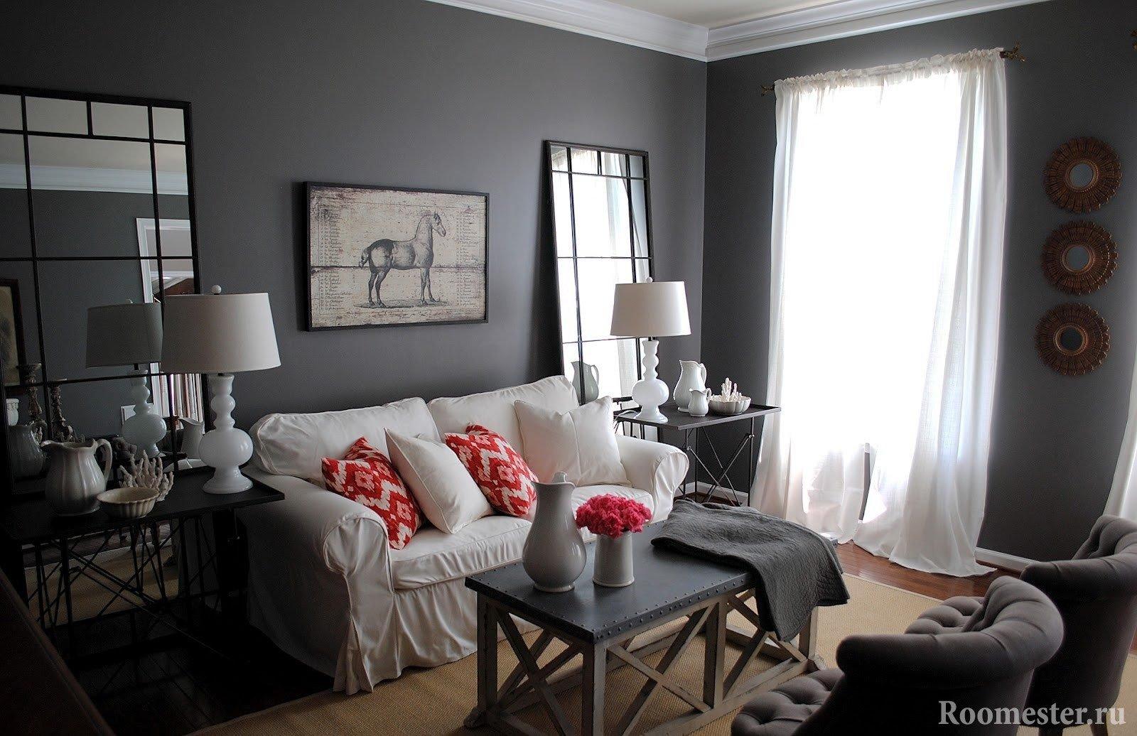 Черный цвет сочетание с другими цветами в интерьере фото