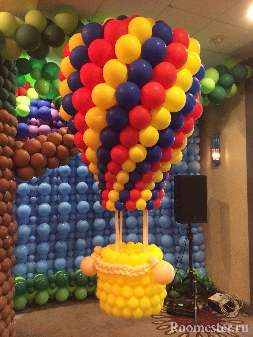 Сказка из воздушных шариков