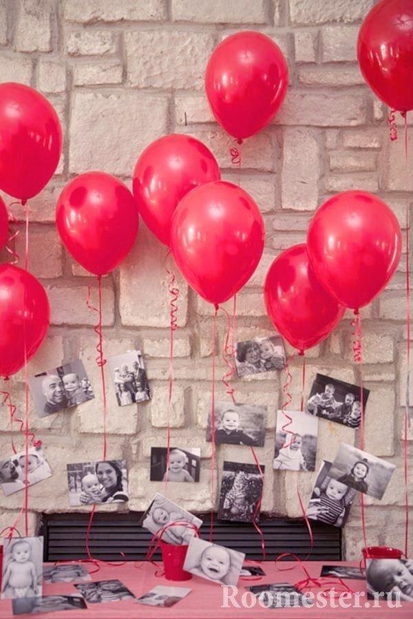 Воздушные шарики с фотографиями