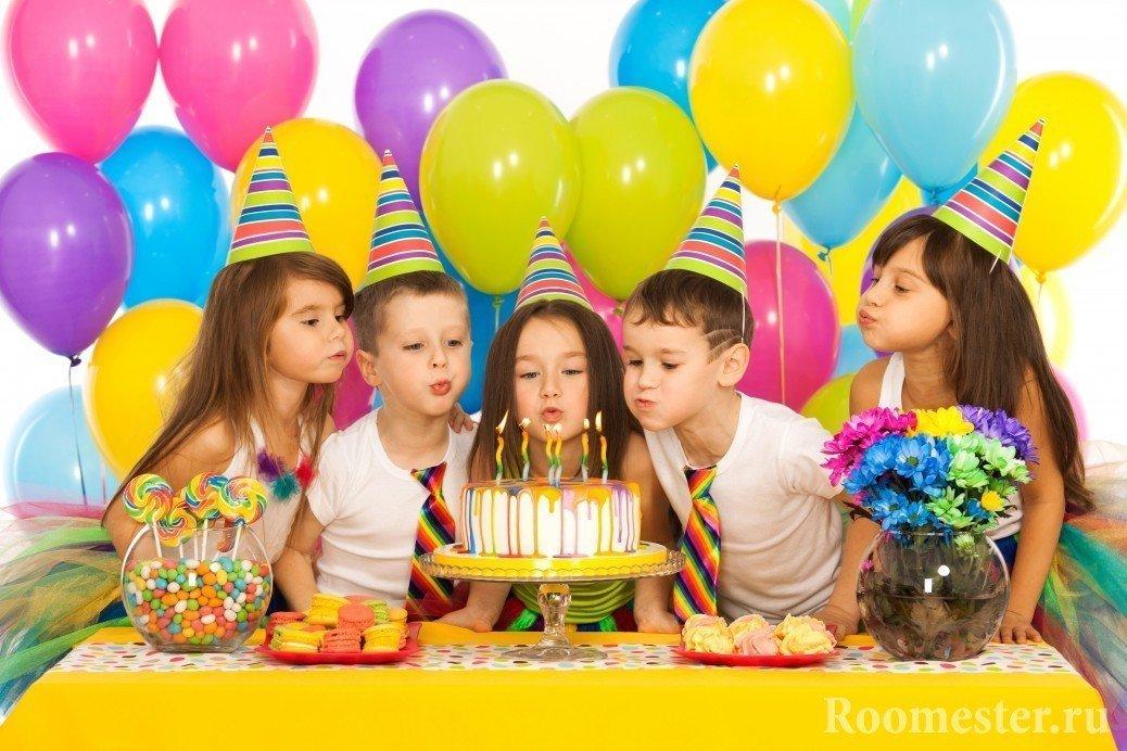 Юбилейный день рождения. Празднуем дома