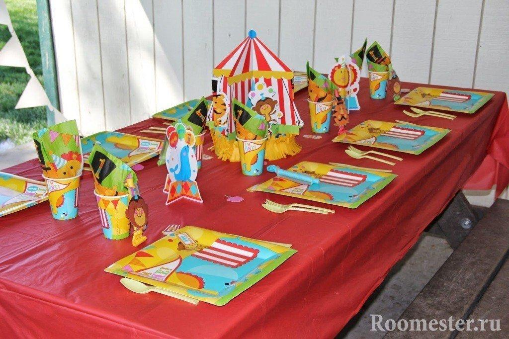 Детский стол на день рождения