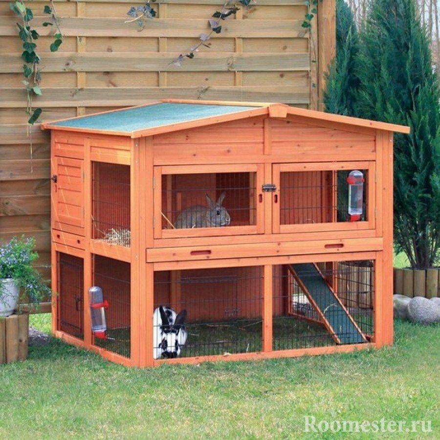 Домик для кроликов