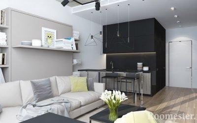 Дизайн студии 25 кв. м. — 30 идей интерьера