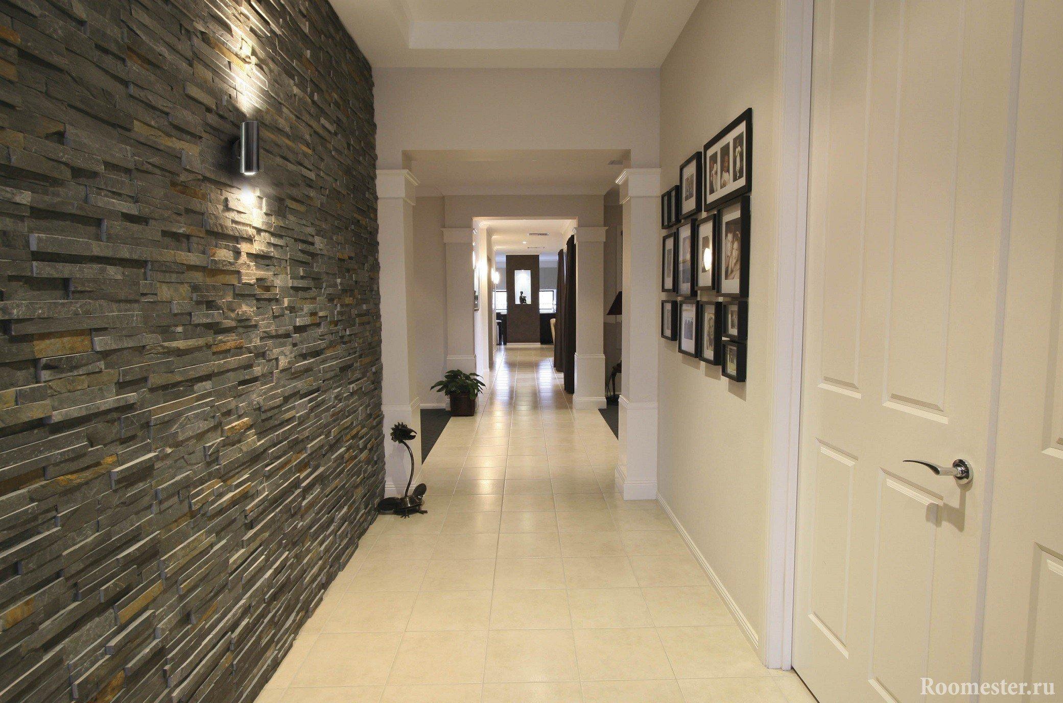 Дизайн длинного и узкого коридора - 35 фото идей интерьера