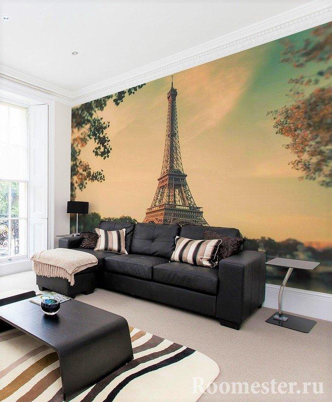 Эйфелева башня в гостиной