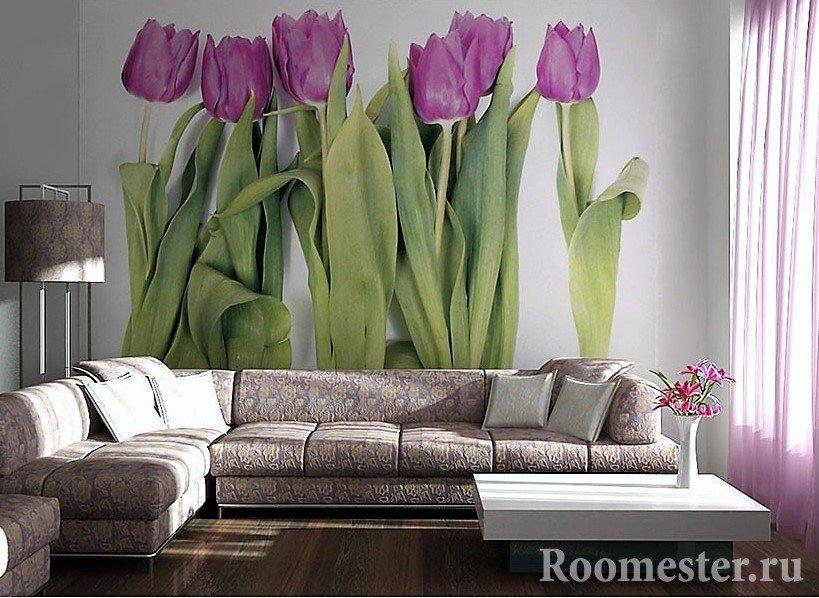 Большие тюльпаны