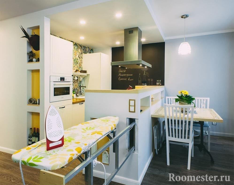 Функциональность для маленькой квартиры имеет важное значение