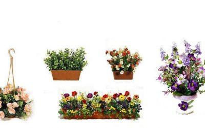 Искусственные цветы для домашнего интерьера — 25 фото примеров