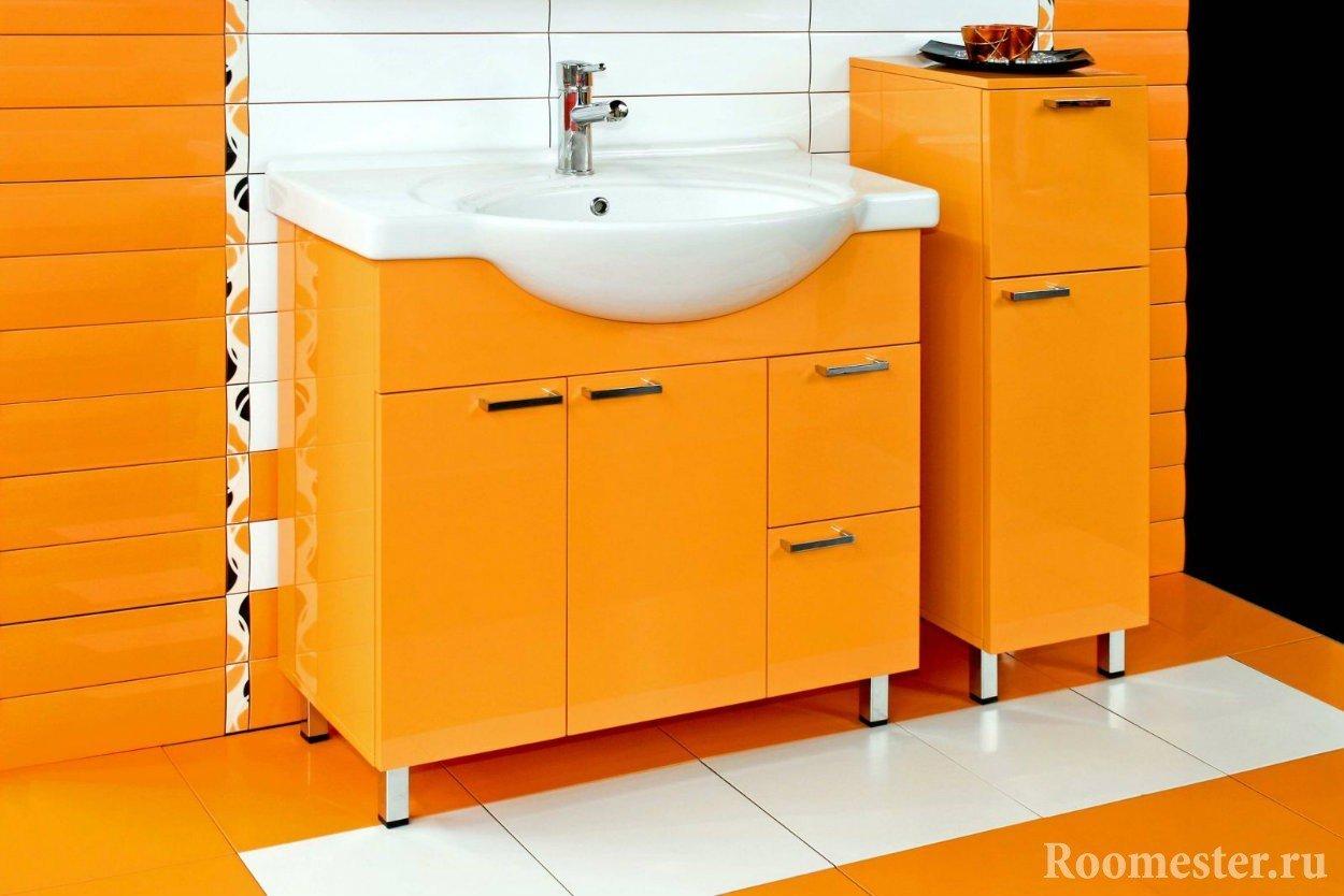 Мебель в цвете оранж