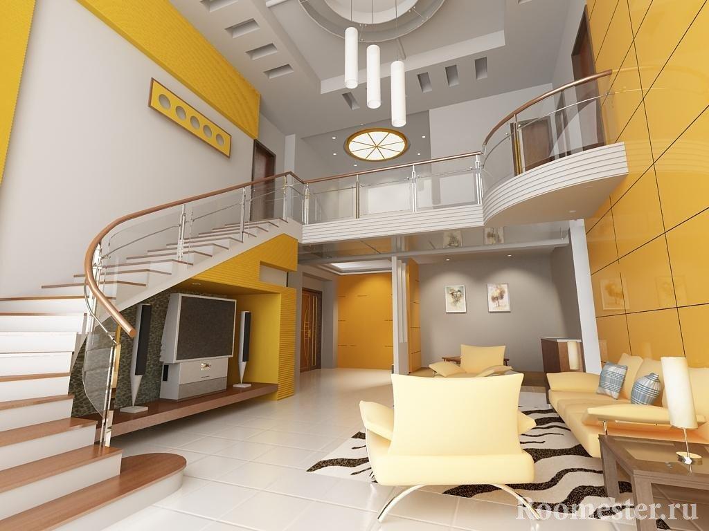 Желтый цвет и цвет металла