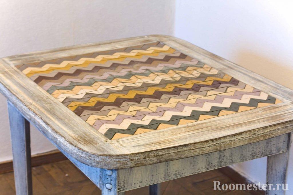 Плитка на кухонный стол своими руками 68