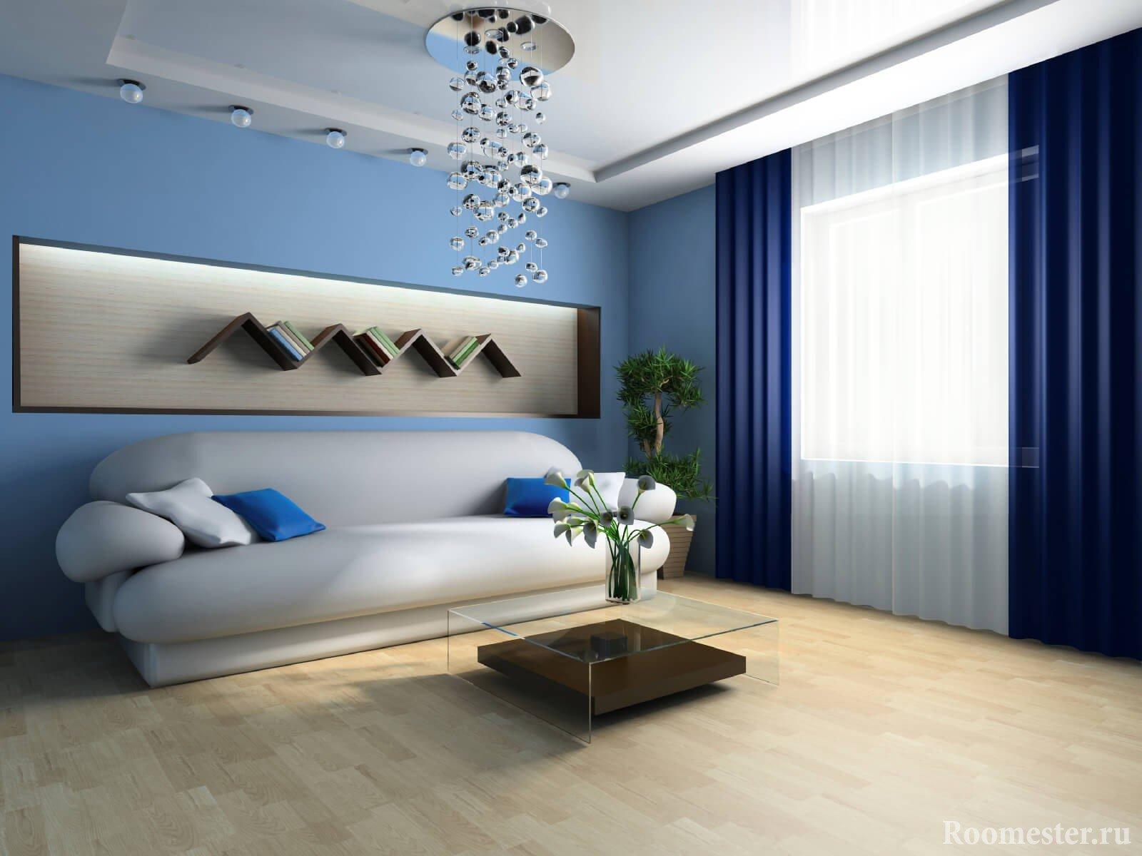 Дизайн-проект гостиной 15 кв м