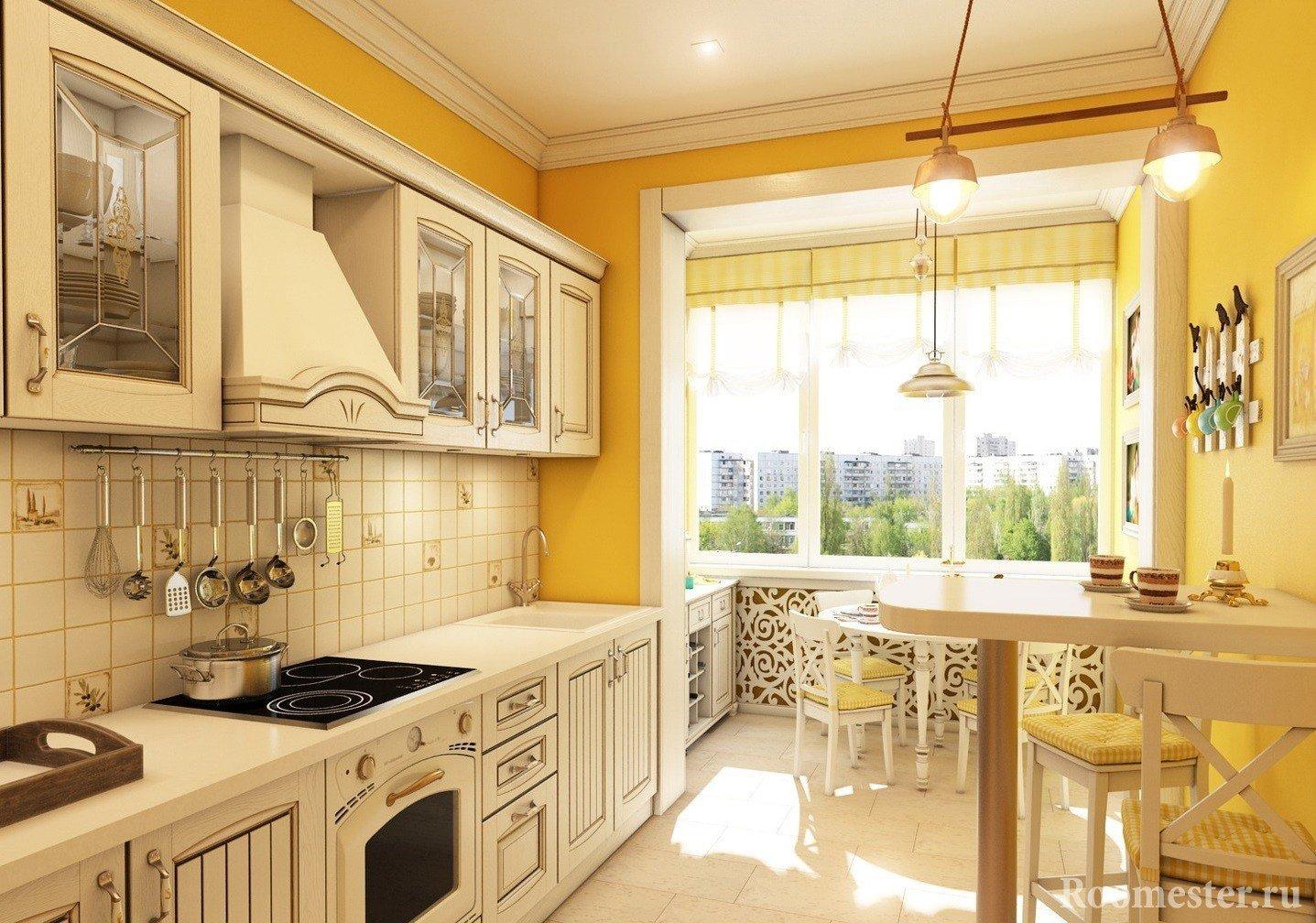 Дизайна кухни прованс