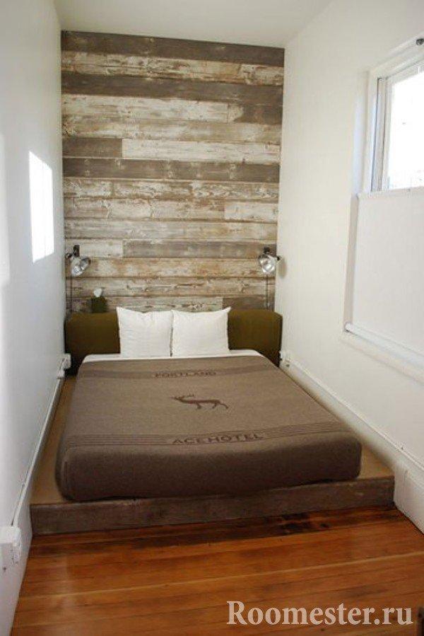 Крошечная спальня