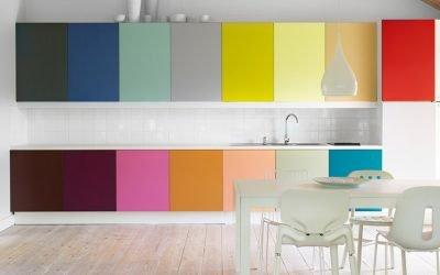 Сочетание цветов в интерьере кухни — 50 примеров на фото