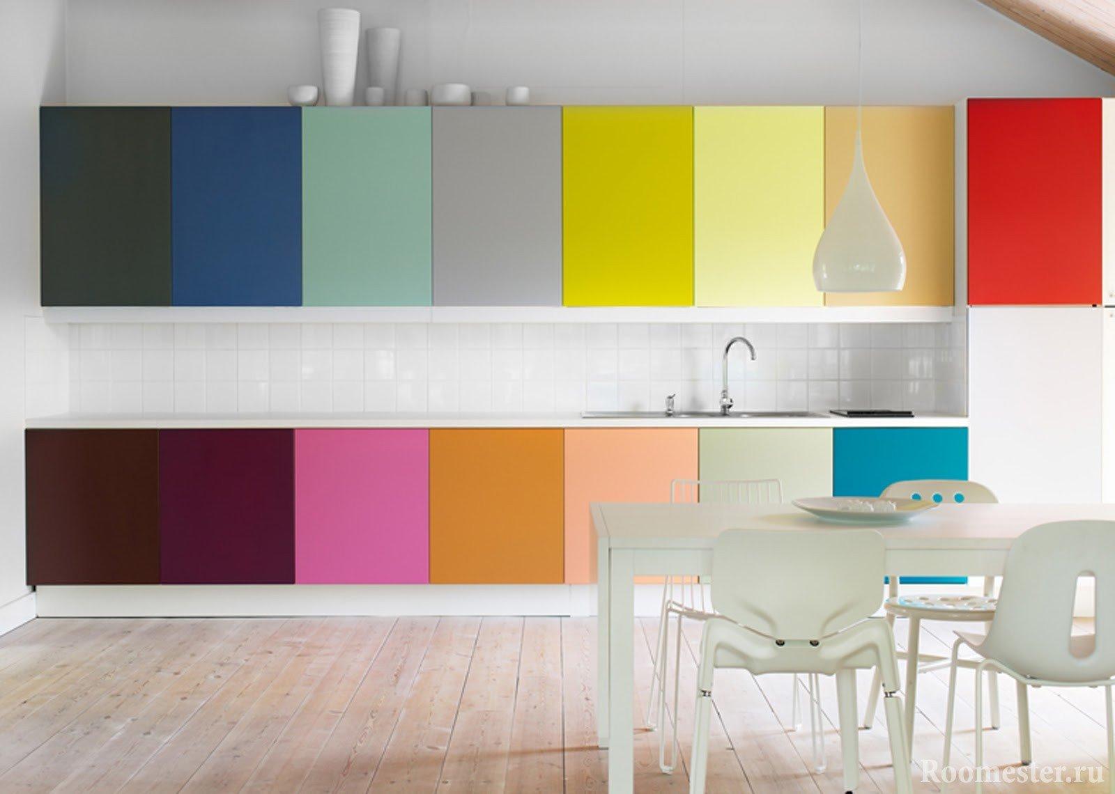 Цветовая гамма на кухне