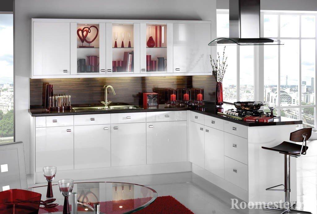 Декор для кухни белого цвета