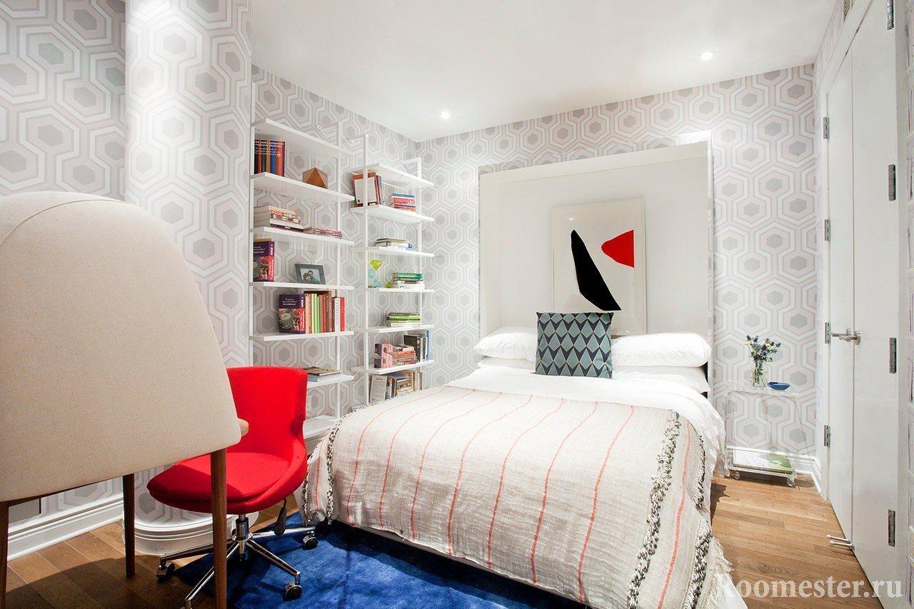 Спальня на 12 квадратных метрах