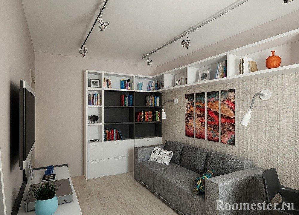 Дизайн комнаты для 12 квм