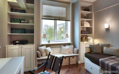 Дизайн и интерьер на 12 кв.м. — советы и фото по обустройству комнаты