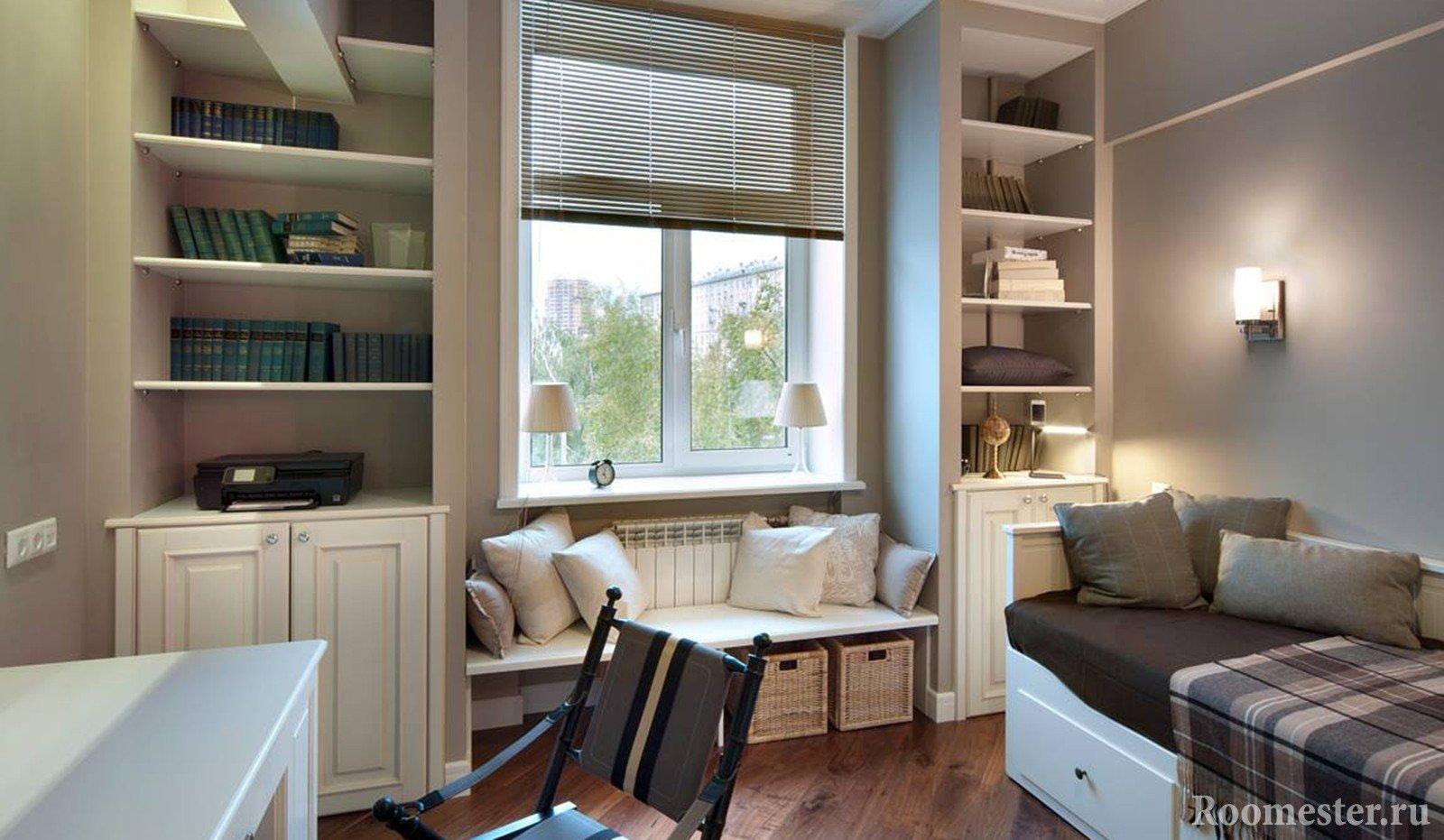 Уютная комната площадью 12 кв м