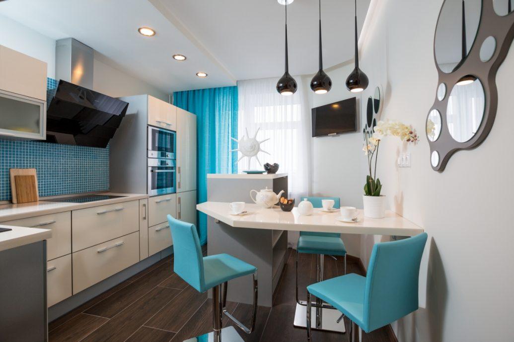 Дизайн интерьер для кухни 12 кв.м
