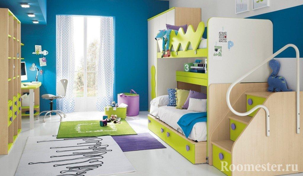 Пример размещения мебели