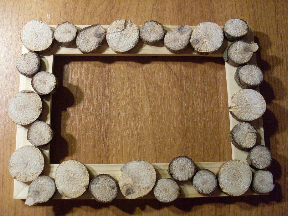 Сделать фоторамку из дерева своими руками 795
