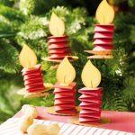 Свечи на елку из бумаги