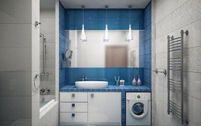 Дизайн ванной комнаты 3 кв. м. — 42 фото идеи