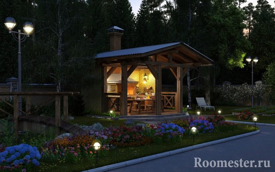 Ландшафтный дизайн загородного дома 10 соток проекты