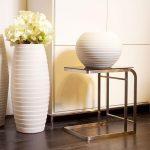 Напольная и настольная ваза в одном стиле