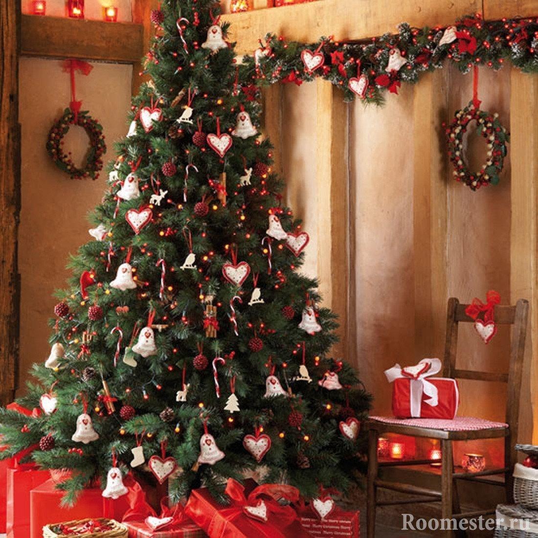 Красиво украсить елку своими руками