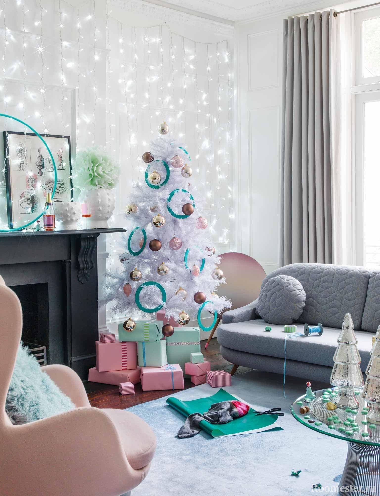 Новогодний декор дома и квартиры своими руками 70 идей на фото