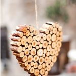 Сердечко из палочек