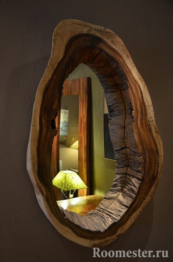 Рама для зеркала из дерева