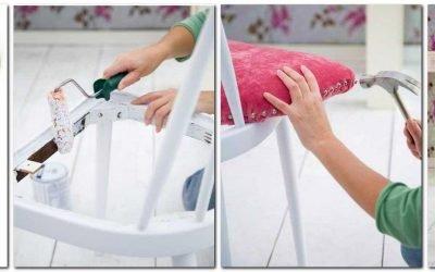 Декор стульев своими руками — способы и примеры